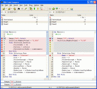 VBA Code Compare main view